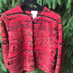 Duffel Sportswear Design Pattern on Polar  Fleece